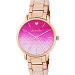 Accessorize Olivia roségoldfarbene Uhr mit Farbverlauf