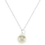 Accessorize Perlenanhänger mit Kette aus Sterlingsilber