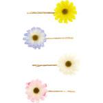 Accessorize 4er-Haarklammer-Packung mit hübschen Blumen
