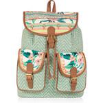 Accessorize Paradise geflochtener Rucksack mit Überschlag