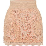 Topshop Crochet Mini Skirt
