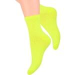 Ponožky dámské Steven 037, žlutá