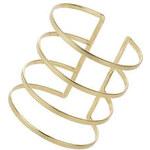 Topshop Gitterförmige Armspange aus Metall - Gold