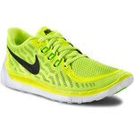 Polobotky NIKE - Free 5.0 725104 700 Volt/Black/Electric Green/Lt Lcd Green