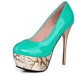 LightInTheBox Patent Leather Women's Stiletto Heel Platform Pumps Heels Shoes(More Colors)