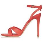 Topshop RUMOUR Cross-Strap Sandals
