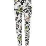 DOROTHY PERKINS Hedvábné květinové kalhoty