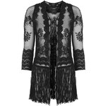 Topshop **Lace Fringed Jacket by Goldie