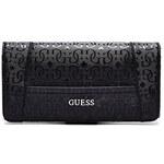 Guess Elegantní peněženka Bianco File Clutch černá
