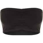 Tally Weijl Black Cropped Bandeau Top