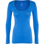Tally Weijl Blue Basic Long Sleeve Top