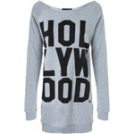 "Tally Weijl Grey ""Hollywood"" Sweater Dress"