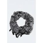 Tally Weijl Monochrome Geometric Print Snood Scarf