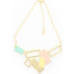 Pastelový náhrdelník Taffia