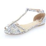 Šedo-bílé sandály Rozita EUR41
