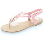 Růžové sandály Ypsilon EUR39