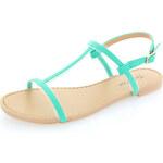 Tyrkysové sandály Livra EUR40