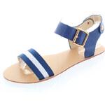 Modré sandály Sarmel EUR37