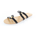 Černé pantofle Jarro EUR39