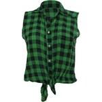 Made in Italy Dámská košile se zavazováním