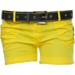 Made in Italy Dámské letní šortky s páskem