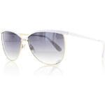 Bílé sluneční brýle Retrica