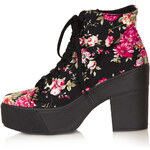 Topshop ASTRIX Chunky Lace-Up Boots