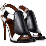 Givenchy Leather Two-Tone Sandals