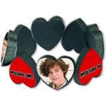 Náramek na gumickách One Direction/Srdce