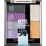 NYC New York Color Individual Eyes Custom Palette 2,7g Oční stíny W Pro hnědé oči - Odstín 938 Union Square