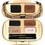 Dolce & Gabbana The Eyeshadow Quad 4,8g Oční stíny W - Odstín 123 Desert