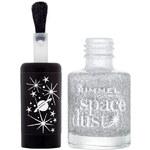 Rimmel London Space Dust Nail Polish 8ml Lak na nehty W - Odstín 004 Luna Love