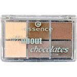 Essence All About Chocolates Eyeshadow 8,5g Oční stíny W - Odstín 05 Chocolates
