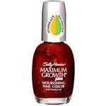 Sally Hansen Maximum Growth Plus Nourishing Nail Color 13,3ml Lak na nehty W Péče pro maximální růst - Odstín Ruby Clarity