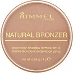Rimmel London Natural Bronzer Waterproof Bronzing Powder SPF15 14g Make-up W - Odstín 022 Sun Bronze