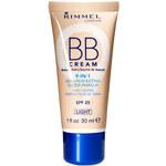 Rimmel London BB Cream 9in1 SPF25 30ml Denní krém na všechny typy pleti W - Odstín Light