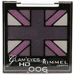 Rimmel London Glam Eyes HD Quad Eye Shadow 2,5g Oční stíny W - Odstín 004 Green Park