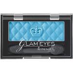 Rimmel London Glam Eyes Mono Eye Shadow 2,4g Oční stíny W - Odstín 410 Plum Romance