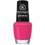 Dermacol Neon Polish 5ml Lak na nehty W - Odstín 03 pink