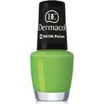 Dermacol Neon Polish 5ml Lak na nehty W - Odstín 09 poison