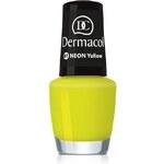 Dermacol Neon Polish 5ml Lak na nehty W - Odstín 10 green