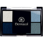 Dermacol Quattro Eye Shadow 5g Oční stíny W - Odstín For Blue Eyes
