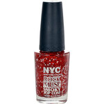 NYC New York Color Rock Muse Smoky Top Coat 9,7ml Lak na nehty W - Odstín 006 Green Day