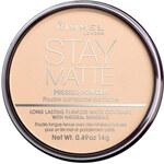Rimmel London Stay Matte Long Lasting Pressed Powder 14g Make-up W - Odstín 005 Silky Beige