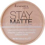 Rimmel London Stay Matte Long Lasting Pressed Powder 14g Make-up W - Odstín 002 Pink Blossom
