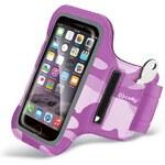 Sportovní pouzdro / armband pro Apple iPhone 6 Plus - CELLY, Pink