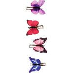 Accessorize 4 Schmetterlings-Haarklammern