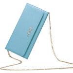 Dámské psaníčko s řetízkem přes rameno Nucelle modré