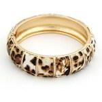 BAGISIMO Dámský náramek Leopard
