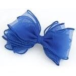 BAGISIMO Modrá sponka do vlasů